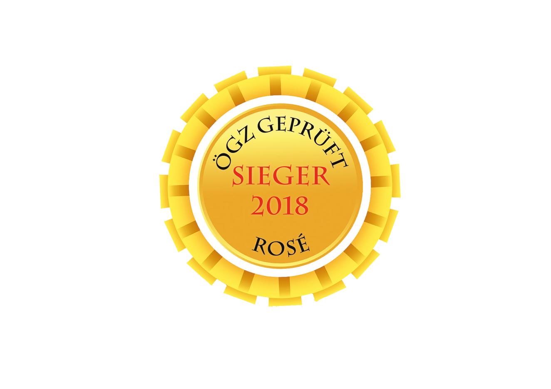 ÖGZ Sieger Rosé vom Blaufränkisch Sommelier Edition 2017