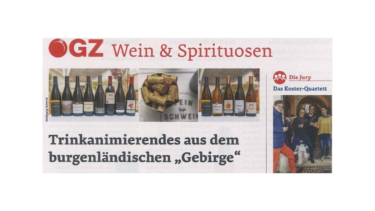 """Trinkanimierendes aus dem burgenländischen """"Gebirge"""""""