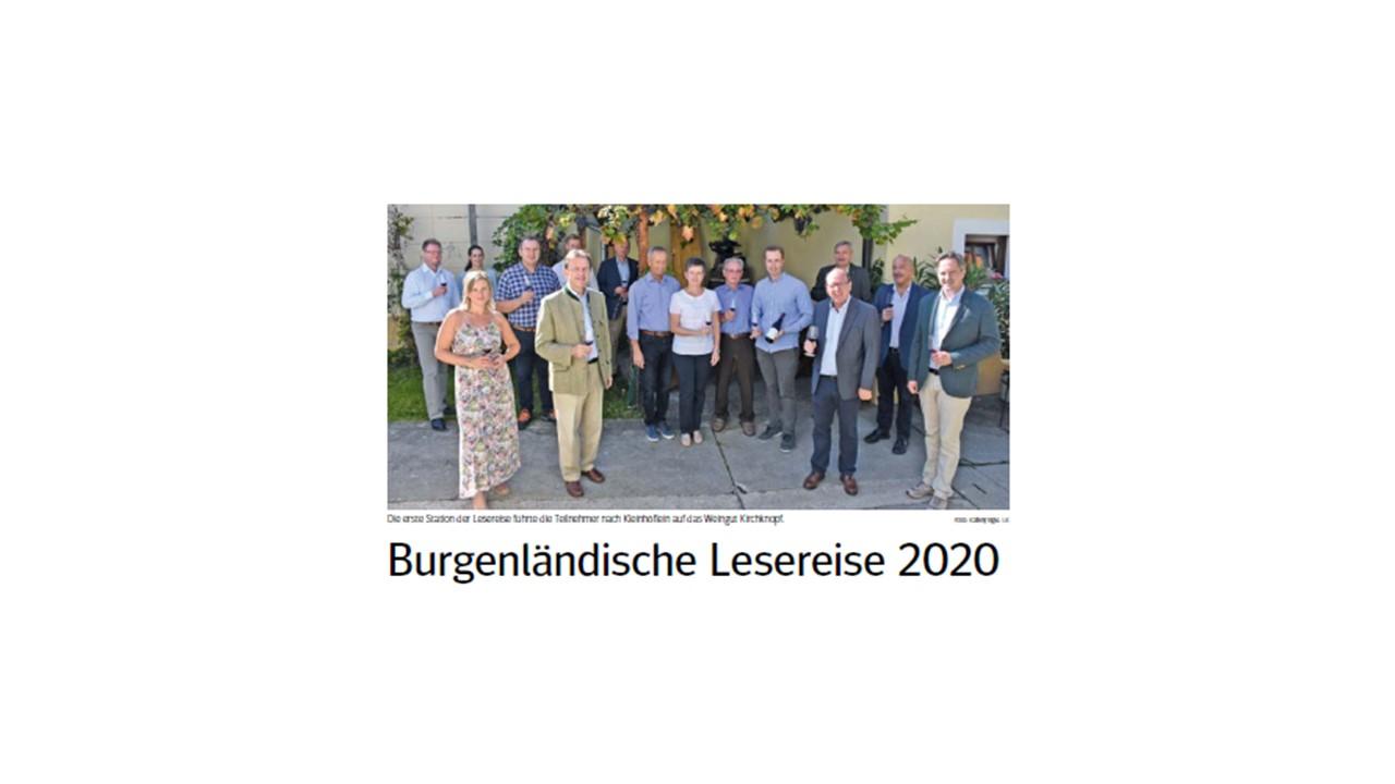 Burgenländische Lesereise 2020