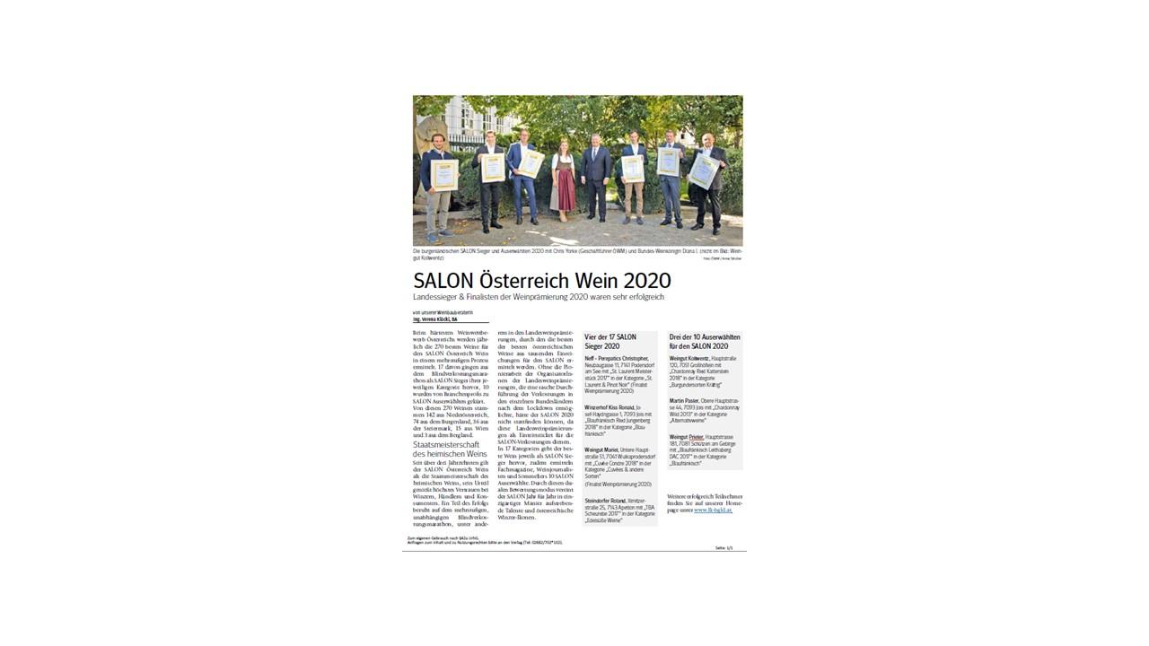 SALON Österreich Wein 2020