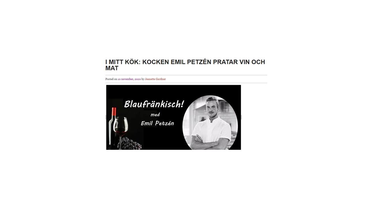 Blaufränkisch! med Emil Petzén