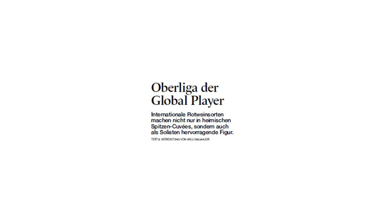 A la Carte – Oberliga der Global Player