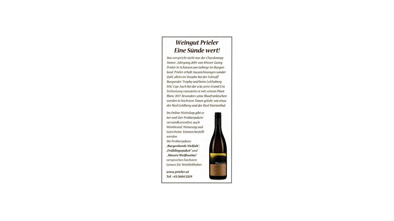 Weingut Prieler – Eine Sünde wert!