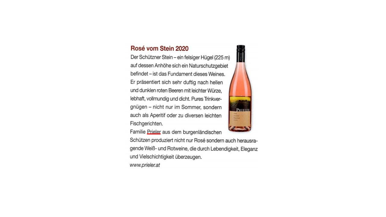 Rosé vom Stein 2020